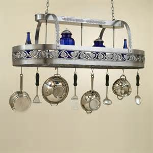 kitchen island pot rack hi lite manufacturing h 83y d 21 quot pot rack