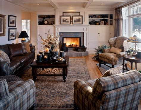 plaid living room furniture 21 cozy living room design ideas