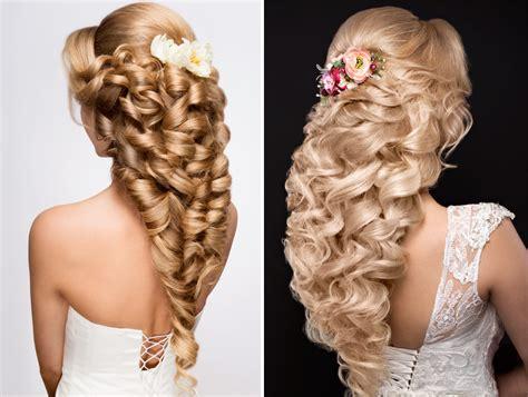 fiori x sposa acconciature sposa capelli lunghi 2018 idee bellissime