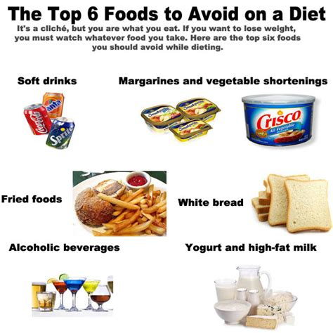 2 vegetables to avoid to lose weight foods to avoid on a diet the top 6 easy to lose weight