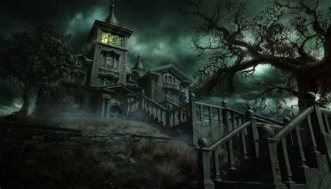 wallpaper dark house the dark house 3d and cg abstract background