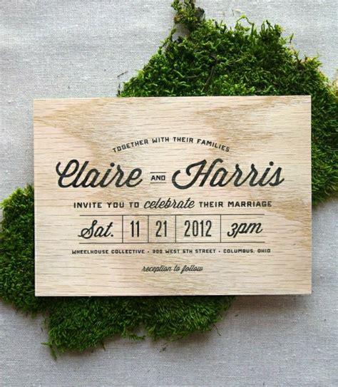 Hochzeitseinladung Einfach by 51 Originelle Designs Hochzeitseinladungen Archzine Net