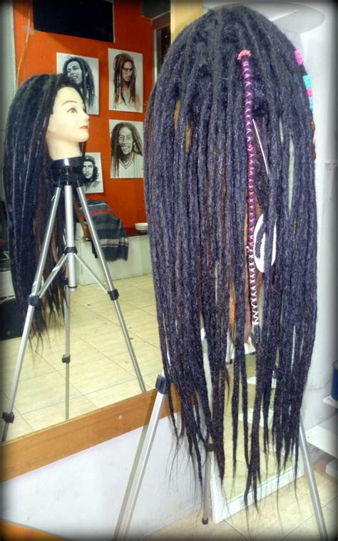 Real Dreadlock Wigs | dreadlock wig human real hair extension need pinterest