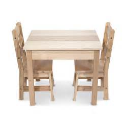 doug 3 wooden table and chairs set