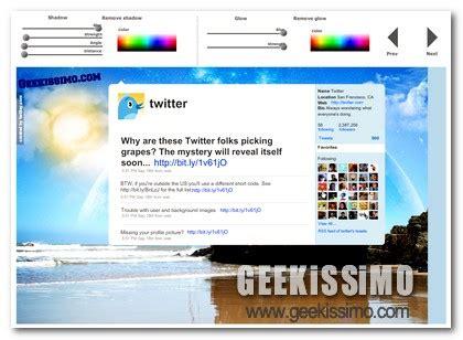 layout su twitter twitlay creare un layout completamente personalizzato per