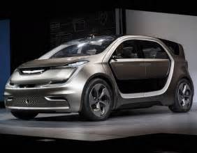 Chrysler Concepts Fiat Chrysler Debut Concept Electric Minivan At Ces 2017