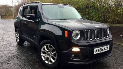 black jeep renegade jeep renegade 1 6 multijet longitude 5dr diesel hatchback