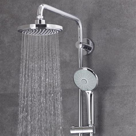 Modern Kitchen Faucets Grohe Euphoria 180 Thermostatic Shower System Victorian