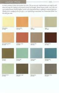 tuscan color palette sherwin williams color preservation palettes retro 1950 s