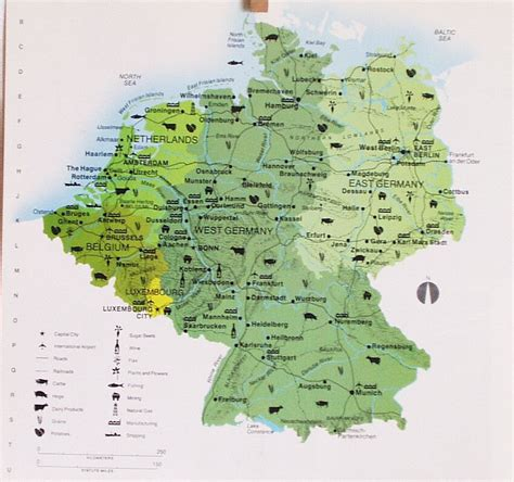 map of east germany map of east and west germany pictures to pin on
