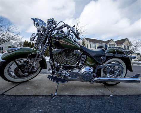 Motorcycles Bristol Ct by 2003 Harley Davidson 174 Flsts I Heritage Springer 174 100th