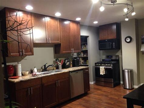 We used Shenandoah cherry spice cabinets, high def