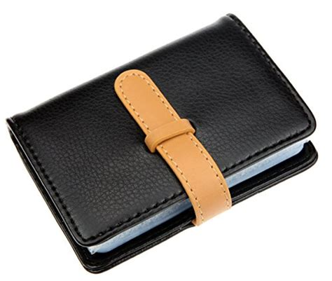 Card Holder 12 Slot Free Box dker pu leather credit card holder with 26 card slots book import it all