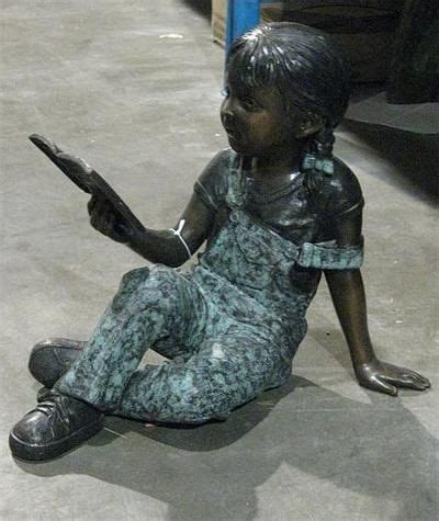 book related statues images  pinterest book