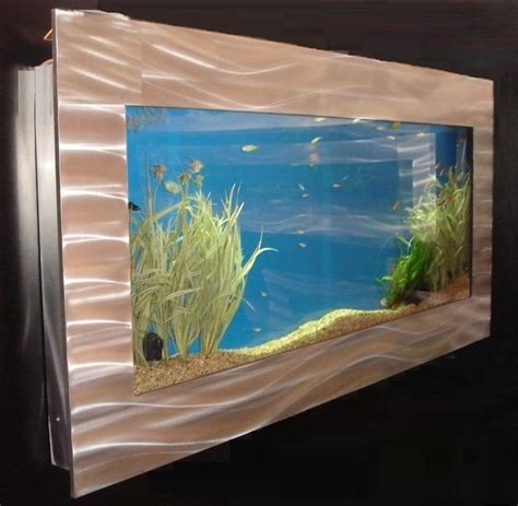 mega 20 gallon rectangular wall mounted aquarium home