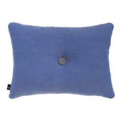 buy hay surface dot pillow 45x60cm denim amara