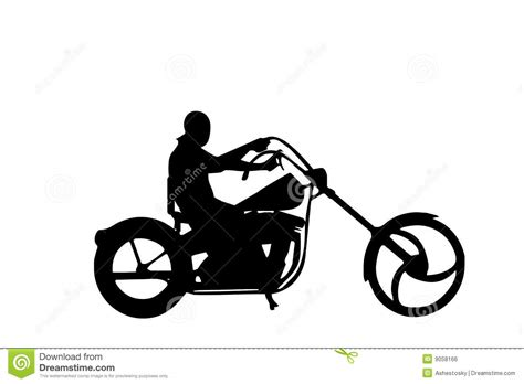 silhouette harley davidson motorrad bild idee