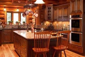 Cabin Kitchen Kitchens Rustic Kitchen Photos Log Cabin Kitchen
