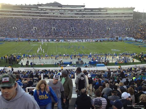 section 4 football com rose bowl stadium section 4 ucla football