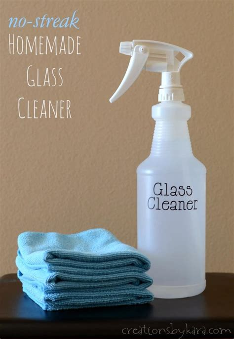 streak homemade window cleaner creations  kara