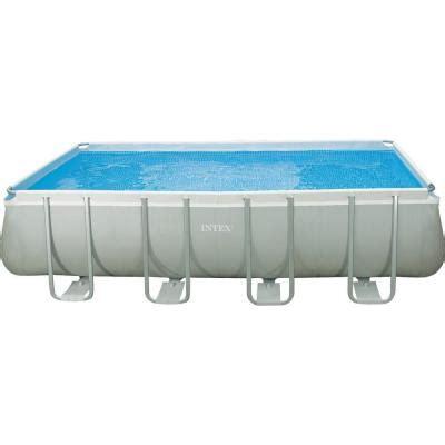 intex 18 ft x 9 ft x 52 in rectangular ultra frame pool