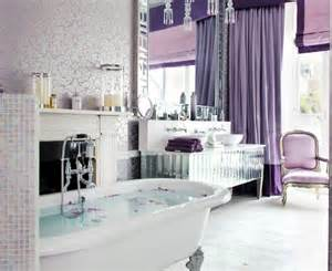 Bathroom Ideas Colors gorgeous lavender curtain shabby chic bathroom