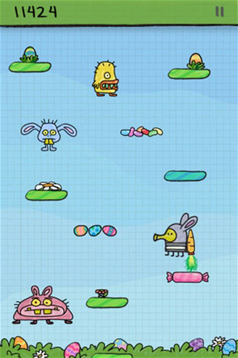 doodle jump hop doodle jump gets an easter update iclarified