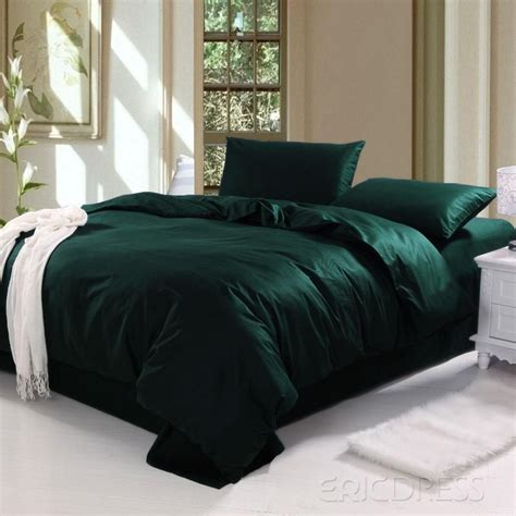 Dark Green Bedding Sets Ocyorsz Slytherin Style