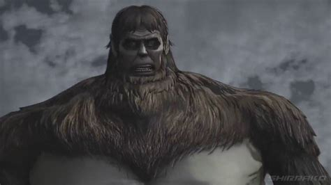 attack on titan zeke anime attack on titan ps4 all beast titan fights zeke ape