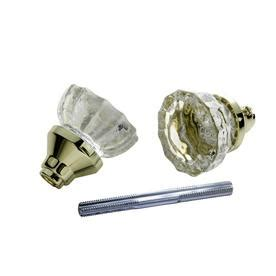Glass Door Knobs Lowes Lowes Bed Bath Glass Polished Brass Privacy Knob Set Knobs Hardware Doors House