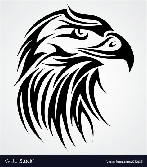 eagle head tattoos designs eagle design royalty free vector image