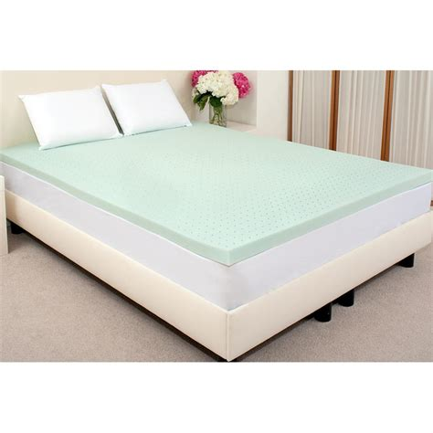 2 Inch Memory Foam Mattress Topper by Viscofresh 2 Quot Memory Foam Mattress Topper 187809 Mattress Toppers At Sportsman S Guide