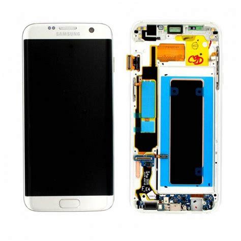 Lcd Samsung S7 Edge lcd display samsung galaxy s7 edge silver