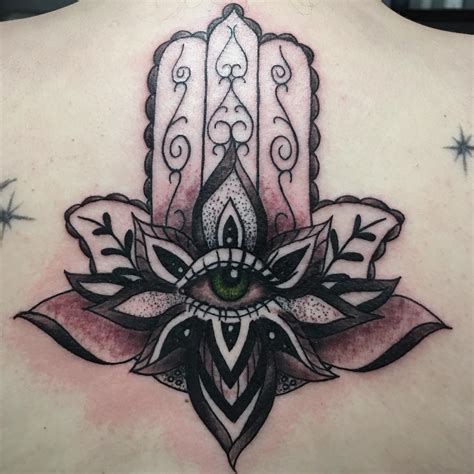 protector tattoo 80 best hamsa designs meanings symbol of