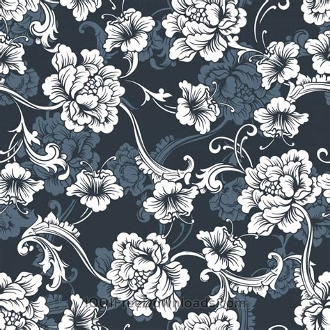 seamless floral pattern background vector graphic free vectors seamless vector background baroque pattern