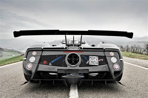 pagani back pagani zonda 760rs the most extreme zonda evo