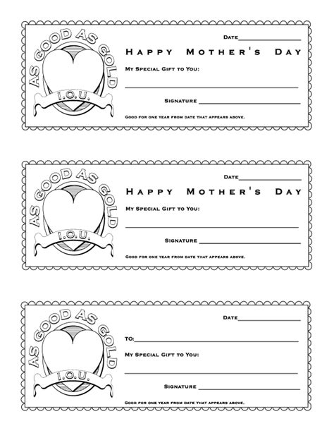 Early Play Templates April 2013 S Day Coupon Template