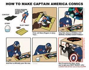 How Make A Meme - how to make captain america comics by kurozawa46 how to