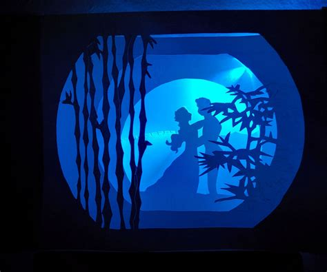 a pattern of shadow and light book 5 illuminated tunnel book 5 steps with pictures
