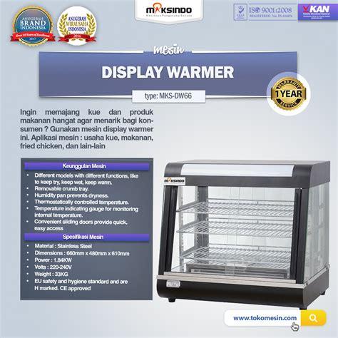Jual Keranjang Display jual mesin display warmer mks dw66 di tangerang toko