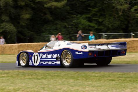 Porsche 962c by Porsche 962c Chassis 962 006 2014 Goodwood Festival