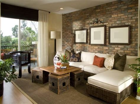 brick wall living room 38 beautiful living rooms with exposed brick walls