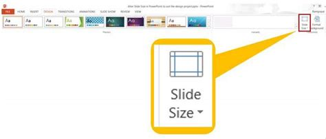 powerpoint template size how to customize powerpoint slide size for your design project
