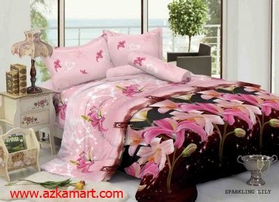 Sprei Merek Kintakun Motif Bunga Warna Merah sprei dan bedcover kintakun luxury terbaru grosir
