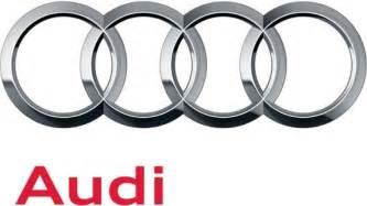 Audi Symbol Audi Makes Subtle Changes To Its Four Ringed Emblem Autoblog