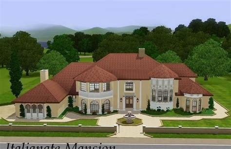 Sims 3 Simple House Plans Mansions Sims3 Italianate Mansion Archives Free Houses I Like Layouts
