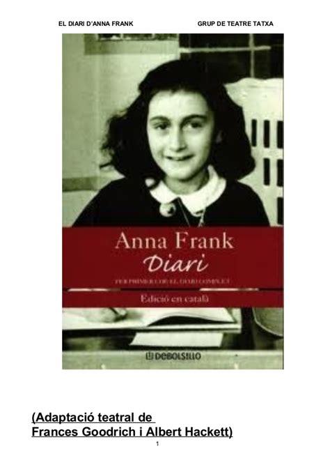 anna frank el diari el diari d anna frank