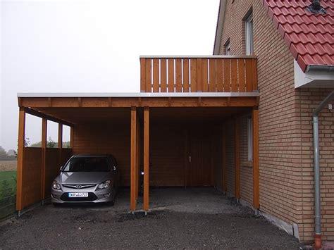 carport mit balkon carport mit balkon kosten das beste aus wohndesign und