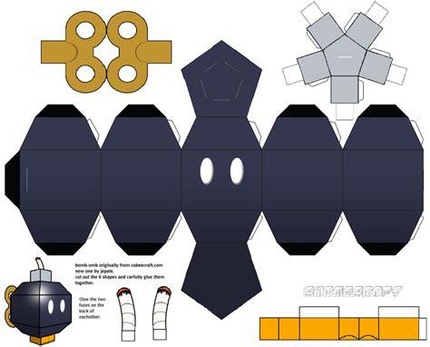 Simple Papercraft Templates - papercraft templates guidance papercraft and mario