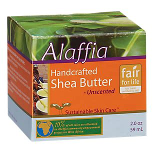 Alaffia Handcrafted Shea Butter Unscented - product image for handcrafted shea butter unscented 2